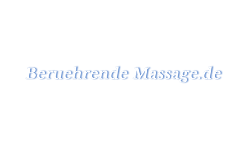 Berührende Massage